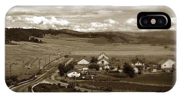 Hatton Ranch Carmel Valley From Highway One California  1940 IPhone Case