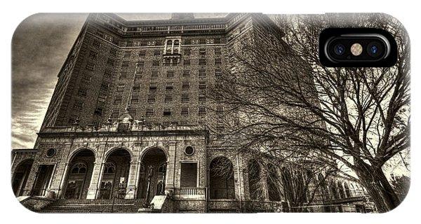 Haunted Baker Hotel IPhone Case