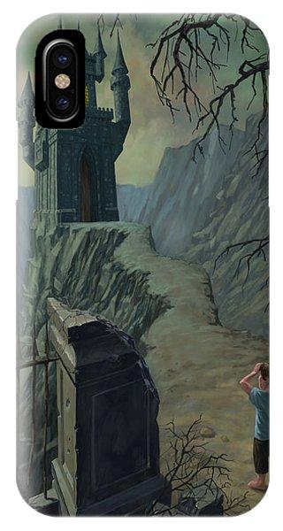 Haunted Castle Nightmare IPhone Case