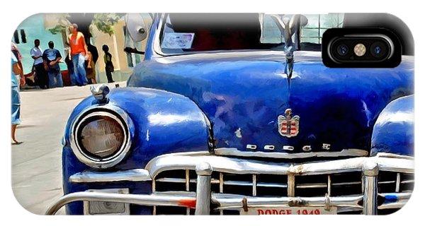 Havana - 1949 Dodge - Caribbean Serie IPhone Case