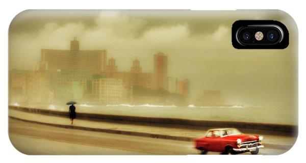 Car iPhone Case - Havana Malecon by Svetlin Yosifov
