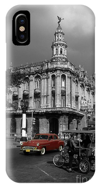 Havana Red IPhone Case