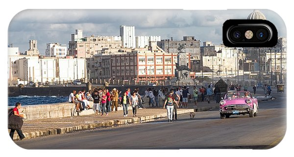 Havanna - Malecon IPhone Case