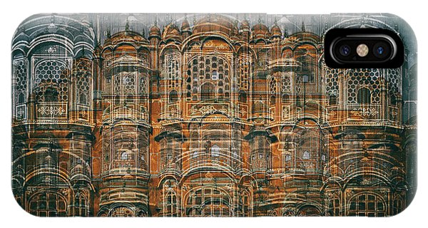 Palace iPhone X Case - Hawa Mahal by Hans-wolfgang Hawerkamp