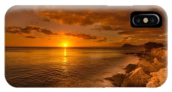 Hawaii Golden Sunset IPhone Case