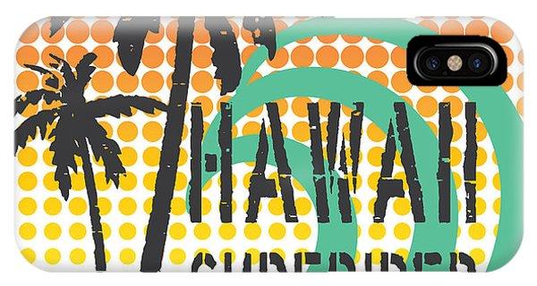 Hawaiian iPhone Case - Hawaii Surfrider Team Artwork For by 19srb81
