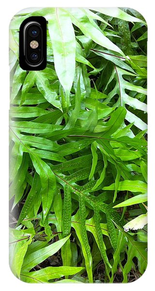 Hawaiian Foliage IPhone Case