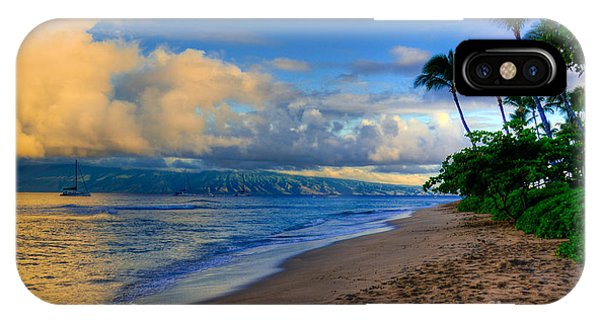 Hawaiian Island Sunrise IPhone Case