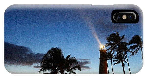 Hawaiian Lighthouse IPhone Case
