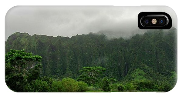 Hawaiian Rain Forest IPhone Case