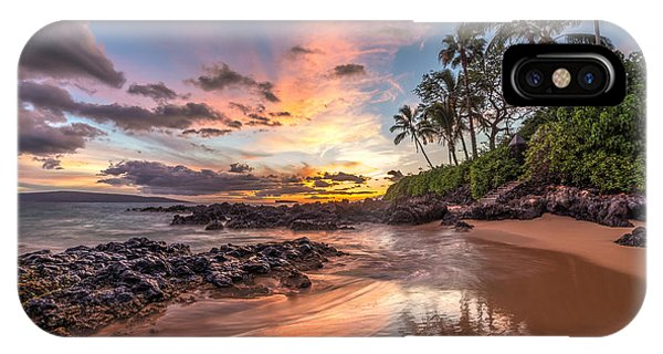 IPhone Case featuring the photograph Hawaiian Sunset Wonder by Pierre Leclerc Photography