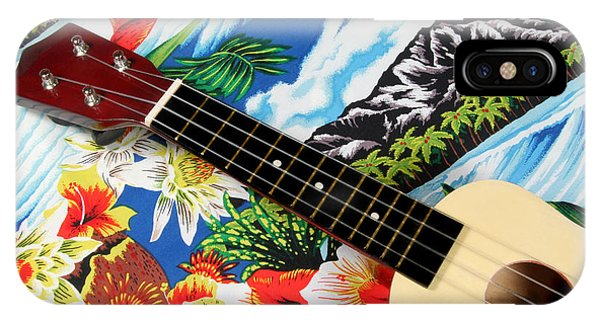 Hawaiian Ukulele IPhone Case