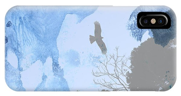 Hawk In Flight 1 IPhone Case