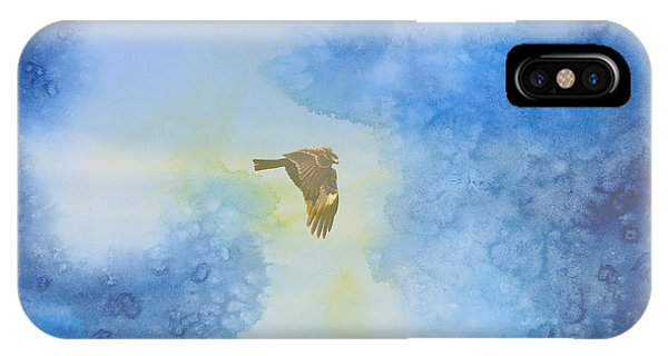 Hawk In Flight 2 IPhone Case