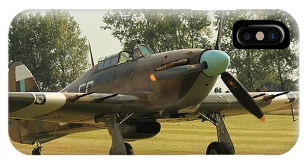 Hawker Hurricane Taxing IPhone Case