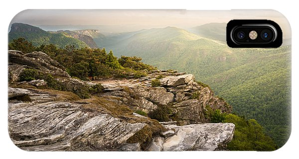 Hawksbill Mountain Sunset IPhone Case
