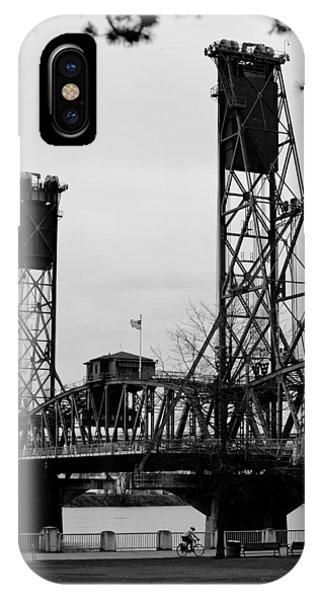 Hawthorne Bridge 1 IPhone Case