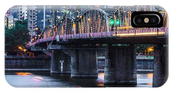 Hawthorne Bridge Portland Oregon IPhone Case