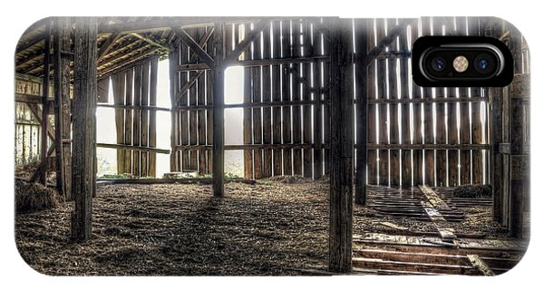 Old Building iPhone Case - Hay Loft 2 by Scott Norris