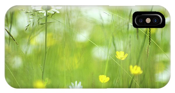 Upland iPhone Case - Hay Meadow Flowers by Simon Fraser/science Photo Library
