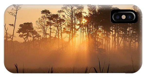 Hazy Summer Morning Sunrise IPhone Case