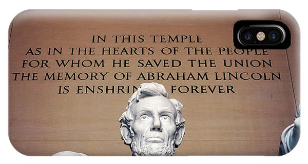 He Saved The Union IPhone Case
