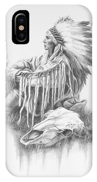 He Who Seeks A Vision IPhone Case