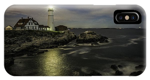 Head Light By Night IPhone Case