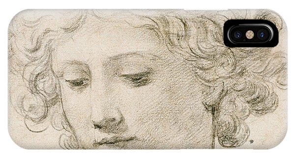 Head Of An Angel IPhone Case