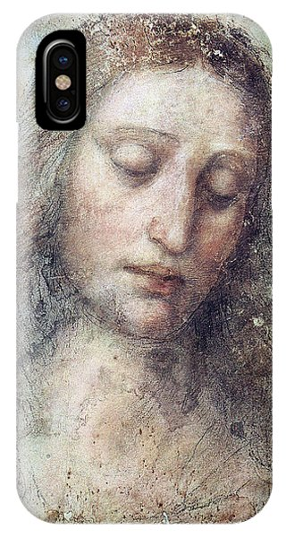 Head Of Christ Restoration Art Work IPhone Case