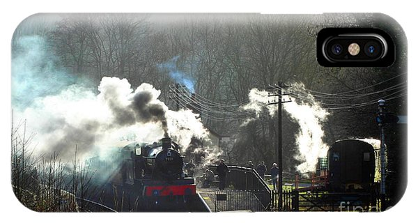 iPhone Case - Head Of Steam by Anthony Forster
