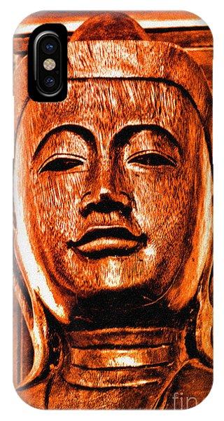 Head Of The Buddha IPhone Case