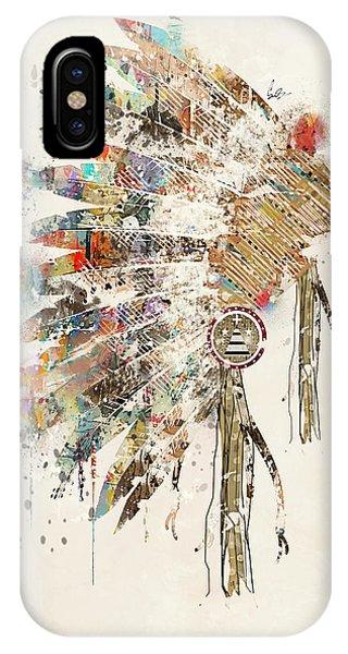Feathers iPhone Case - Headdress by Bri Buckley