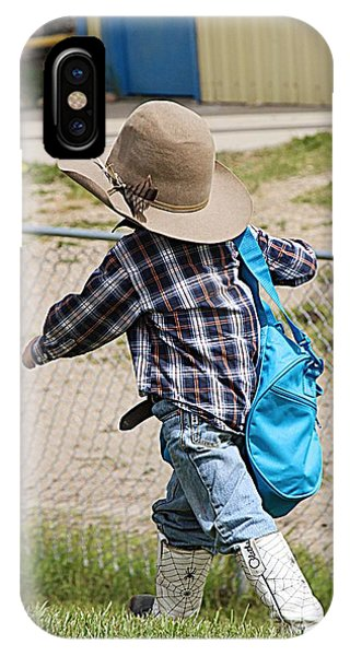 Heading For The Chute IPhone Case
