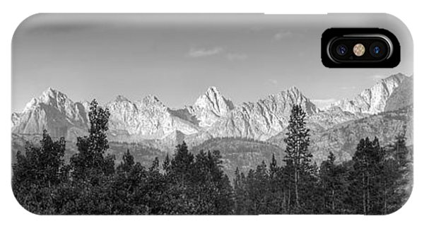 Headwaters Of Bishop Creek IPhone Case