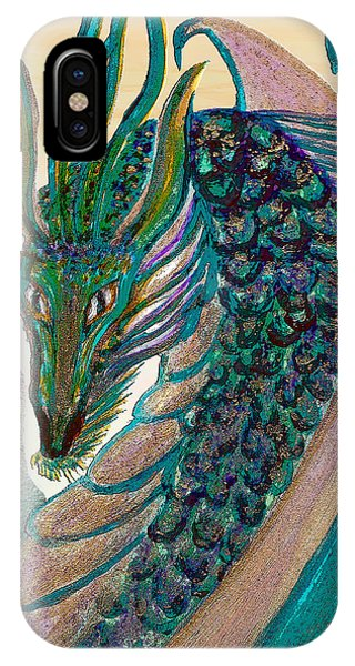 Healing Dragon IPhone Case