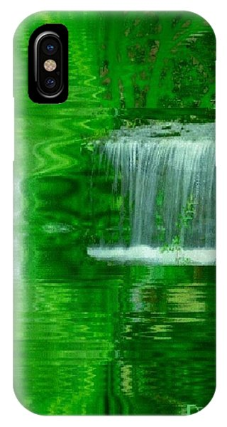 Healing In Green Waters Phone Case by Ray Tapajna