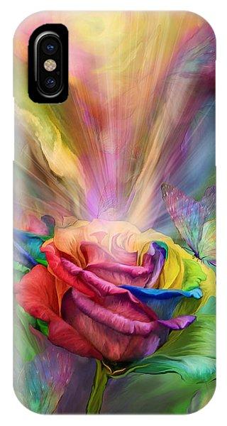 Healing Rose IPhone Case