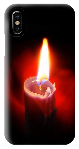 Heart Aflame IPhone Case