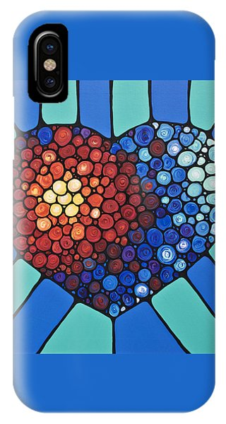 Heart Art - Love Conquers All 2  IPhone Case