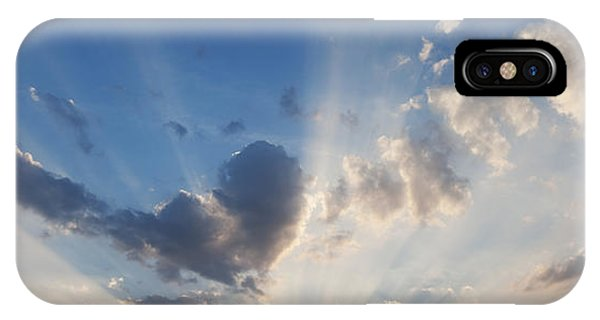 Divine Love iPhone Case - Heart Cloud by Tim Gainey