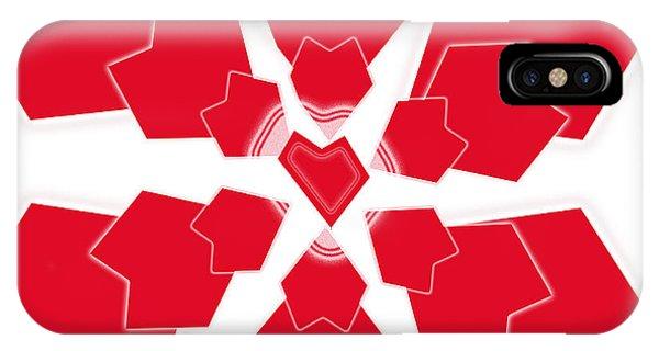 Heart Flower 1 IPhone Case