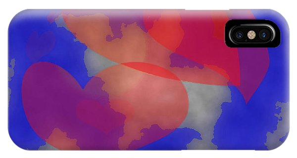 Heart In The Clouds IPhone Case