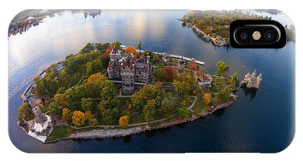 Heart Island George Boldt Castle IPhone Case