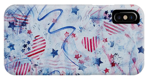 iPhone Case - Heart Of America by Julie Acquaviva Hayes