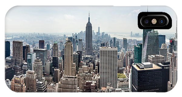 Empire State iPhone Case - Heart Of An Empire by Az Jackson