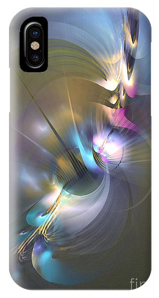 Heart Of Dragon - Abstract Art IPhone Case