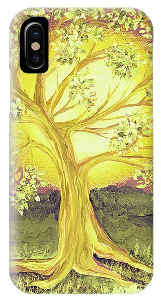 Heart Of Gold Tree By Jrr IPhone Case
