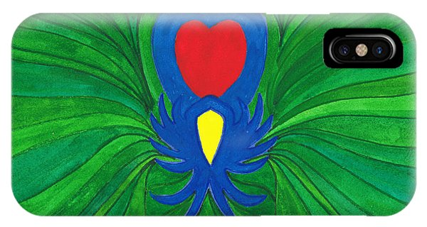 Heart Of Love.mexico IPhone Case
