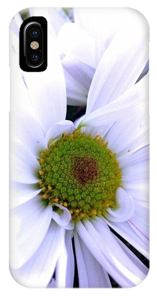 IPhone Case featuring the photograph Heart Of The Daisy by Marian Palucci-Lonzetta